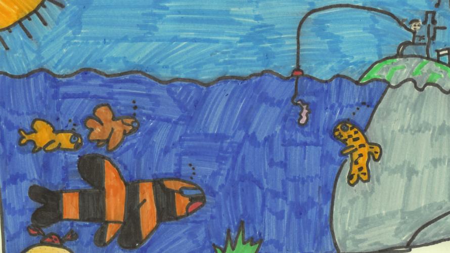 Salut les poiscailles – par EMilaRoz